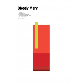 Nick Barclay - Druck auf Aludibond - Cocktail Collection - 04 Bloody Mary