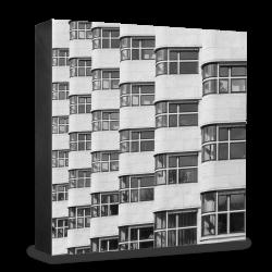 COGNOSCO Holzblock Berlin: Shell-Haus