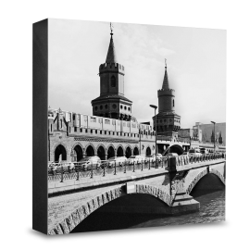 COGNOSCO Holzblock Berlin: Oberbaumbrücke