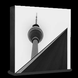 COGNOSCO Holzblock Berlin: Fernsehturm Alex