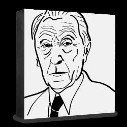 dg-selection Holzblock Bekannte Persönlichkeiten: Konrad Adenauer