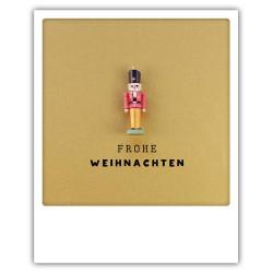 Pickmotion Christmas Cards - Weihnachten Postkarte: Frohe Weihnachten - Nussknacker