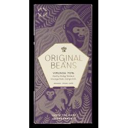 Original Beans - Feine Schokolade - Virunga 70% (EU bio)
