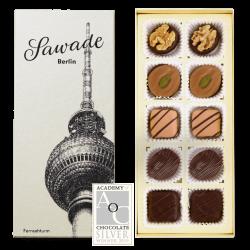 Sawade - Pralinenschachtel Berliner Fernsehturm, 110gr