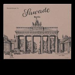 Sawade - Große Pralinenschachtel Berliner Brandenburger Tor, 220gr