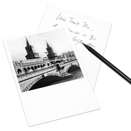 designersgroup - COGNOSCO Postkarte Berlin - Oberbaumbrücke