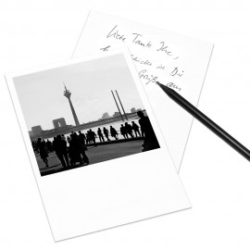 designersgroup - COGNOSCO Postkarte Düsseldorf - Rheinuferpromenade