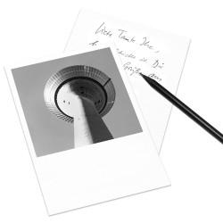 designersgroup - COGNOSCO Postkarte Düsseldorf - Rheinturm