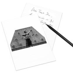 designersgroup - COGNOSCO Postkarte Frankfurt - Alte Nikolaikirche