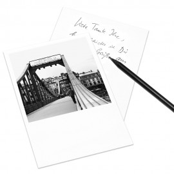 designersgroup - COGNOSCO Postkarte Frankfurt - Eiserner Steg