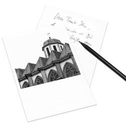 designersgroup - COGNOSCO Postkarte Frankfurt - Liebfrauenkirche