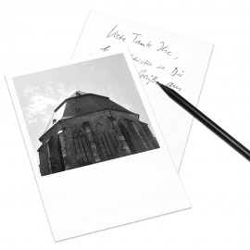 designersgroup - COGNOSCO Postkarte Heidelberg - Heiliggeistkirche