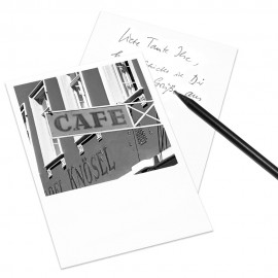 designersgroup - COGNOSCO Postkarte Heidelberg - Café Knösel