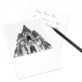designersgroup - COGNOSCO Postkarte Köln - Kölner Dom