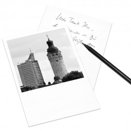 designersgroup - COGNOSCO Postkarte Leipzig - Neues Rathaus