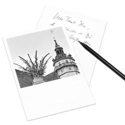 designersgroup - COGNOSCO Postkarte Leipzig - Nikolaikirche