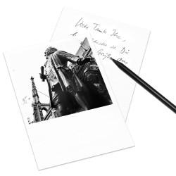 designersgroup - COGNOSCO Postkarte Leipzig - Bach-Denkmal
