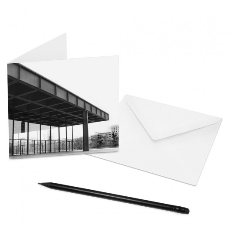 designersgroup - COGNOSCO Klappkarte Berlin - Neue Nationalgalerie
