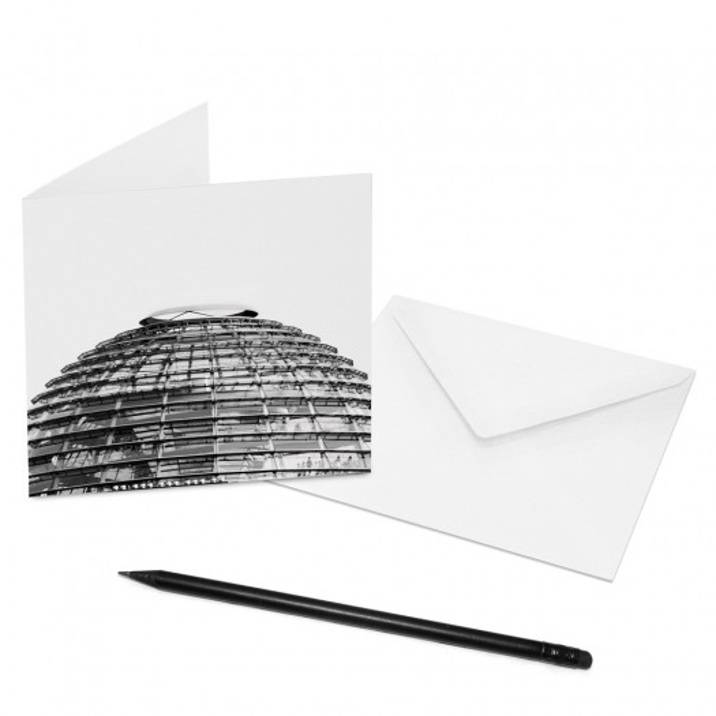 designersgroup - COGNOSCO Klappkarte Berlin - Reichstagskuppel