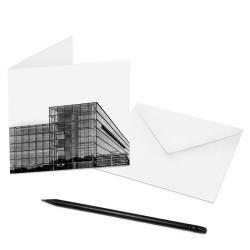 designersgroup - COGNOSCO Klappkarte Dresden - Gläserne Manufaktur