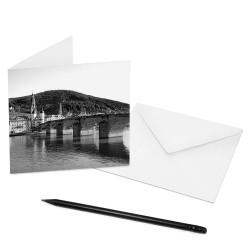 designersgroup - COGNOSCO Klappkarte Heidelberg - Alte Brücke