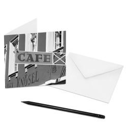 designersgroup - COGNOSCO Klappkarte Heidelberg - Café Knösel