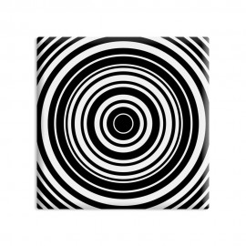 designersgroup - dg-selection Magnet Op-Art - Kreis 11b