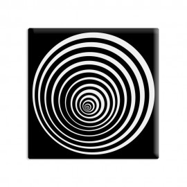 designersgroup - dg-selection Magnet Op-Art - Kreis 7b