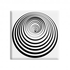 designersgroup - dg-selection Magnet Op-Art - Kreis 8a