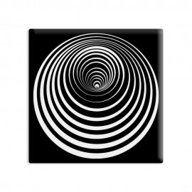 designersgroup - dg-selection Magnet Op-Art - Kreis 8b
