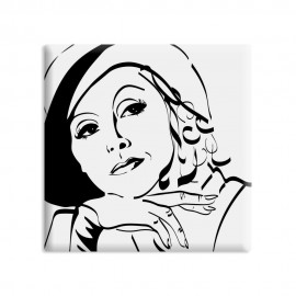 designersgroup - dg-selection Magnet - Diven - 5 x 5 cm - Greta Garbo