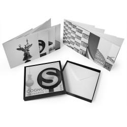 designersgroup - COGNOSCO Klappkarten-Box Berlin. Set mit 8 Klappkarten in schöner Geschenkbox.