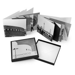 designersgroup - COGNOSCO Klappkarten-Box Düsseldorf. Set mit 8 Klappkarten in schöner Geschenkbox.