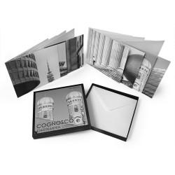designersgroup - COGNOSCO Klappkarten-Box München. Set mit 8 Klappkarten in schöner Geschenkbox.