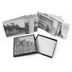 designersgroup - COGNOSCO Klappkarten-Box Potsdam. Set mit 8 Klappkarten in schöner Geschenkbox.