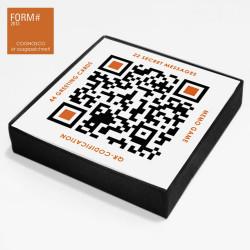 designersgroup - QRCP - QR Code Postkarten Set & Memo Spiel