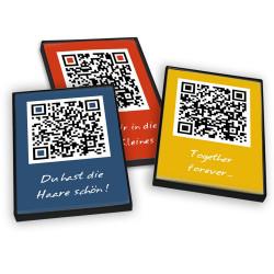 designersgroup - QRCP Postkarten-Box mit 12 bunten QR-Code Postkarten