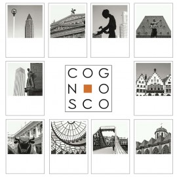 designersgroup - COGNOSCO Postkarten-Set Frankfurt - 10 Stadt-Postkarten