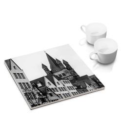 designersgroup - COGNOSCO Untersetzer: Fischmarkt, Köln