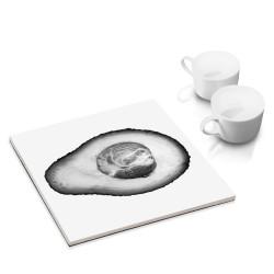 designersgroup - dg-selection Untersetzer - mit Gemüse Stillleben-Motiv: Avocado