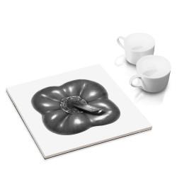 designersgroup - dg-selection Untersetzer - mit Gemüse Stillleben-Motiv: Paprika