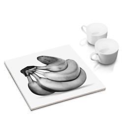 designersgroup - dg-selection Untersetzer - mit Obst Stillleben-Motiv: Bananen