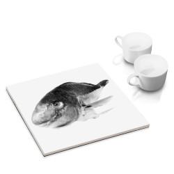 designersgroup - dg-selection Untersetzer - mit Fisch-Motiv: Dickfisch