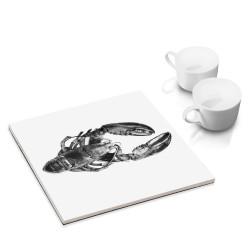 designersgroup - dg-selection Untersetzer - mit Fisch-Motiv: Hummer