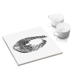 designersgroup - dg-selection Untersetzer - mit Fisch-Motiv: Lachs