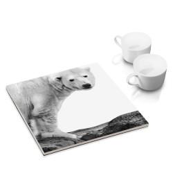 designersgroup - dg-selection Untersetzer - mit Tier-Motiv: Eisbär