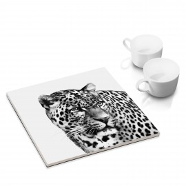 designersgroup - dg-selection Untersetzer - mit Tier-Motiv: Leopard