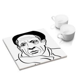 designersgroup - dg-selection Untersetzer - bekannte Künstler: Pablo Picasso
