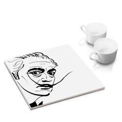designersgroup - dg-selection Untersetzer - bekannte Künstler: Salvador Dali