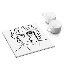designersgroup - dg-selection Untersetzer - bekannte Musiker: John Lennon